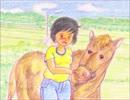 ♪こんめえ馬♪ 【緑咲香澄(CeVIO)】