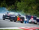 レッドブルF1のリカルドとフェルスタッペンがキャンピングカー勝負!