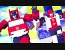 【MMDTF】ダンスロボットダンス【消防コンビ】