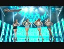 【k-pop】씨스타  – TOUCH MY BODY+LOVING U+SHAKE IT  Goodbye Special  M COUNTDOWN 170601