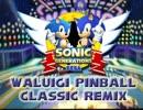 Mariokart DS Waluigi Pinball Classic Sonic Remix