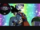 【MAD】悟空とフリーザがひたすら腹パンする動画【神無月の巫女EDパロ】
