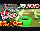 簡単!マリスタ200CCショートカットが楽しすぎwマリオカート8DX(116)