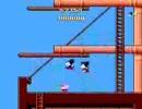 ファミコン 「ミッキーマウス 不思議の国の大冒険」 スピードクリア