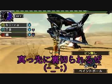 【3BH】バカで変態な3人組みが狩に出てみたXX【天彗龍編】