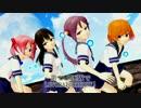 【MMD】第七駆逐隊でLUVORATORRRRRY!【艦これ】
