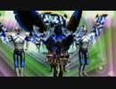 なんちゃって仮面ライダー剣とオリジナルデビルマン風なMMD動画