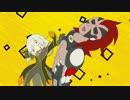【手書き】ゼラちんがイフ爺をポカポカしてるだけ【アニメイシヨン】