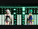 【Ray-MMD】Tda式改変着物ショートのミクとハクでNumber Nine (JP ve)