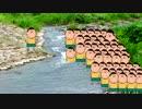 溺れるのを阻止するボーちゃん達