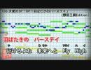 【歌詞付カラオケ】羽ばたきのバースデイ【天使の3P!OP】(Baby's breath)