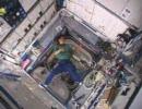 土井宇宙飛行士が軌道上で撮影したブーメランの映像