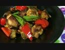 夏バテ知らず!鶏肉と夏野菜のカレー焼き【簡単ボッチめし】