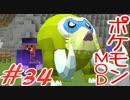 【Minecraft】ポケットモンスター シカの逆襲#34【ポケモンMOD実況】