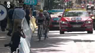 2017 ツール・ド・フランス 第13ステージ ラスト1km