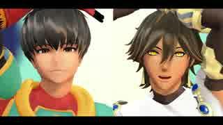 【Fate/MMD】オジマンディアスとアーラシュで「ダンスロボットダンス」