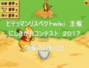 にしきがおコンテスト 2017 開催告知&