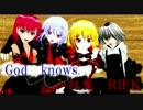 【東方MMD】God knows... with紅魔バンド RIFK