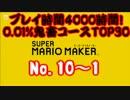 マリオメーカーを4000時間プレイした中から0.01%鬼畜コースを厳選!TOP30 Part3