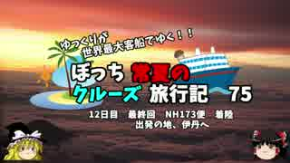 【ゆっくり】クルーズ旅行記 75 最終回 始まりの空港へ