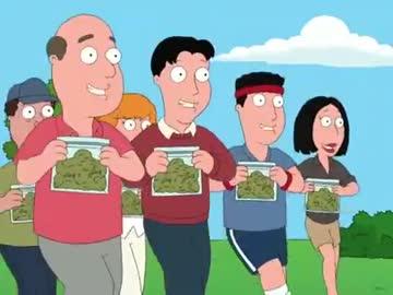ファミリーガイ】 みんなで大麻...