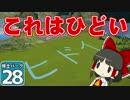 【Planet Coaster 】ようこそ! 博士パークへ! #28【ゆっくり実況】