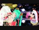 【初音ミク】ミクさんとルカさんで「千本桜 Remix」【MMD】