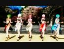 【MMD 4K】Carry Me Off Tda式 Miku Luka GUMI Haku Teto Bikini thumbnail