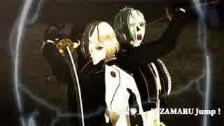 【MMD刀剣乱舞】Hizamaru.Jump【歌ってみた】髭切、膝丸モデル追加
