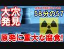 【韓国の原発で重大な腐食発見】 重大な穴、穴、穴、穴だらけ!