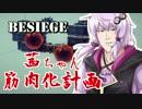 【Besiege】茜ちゃん筋肉化計画2セット目【VOICEROID実況】