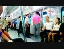 韓国の電車に乗った