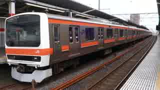 南浦和駅(JR武蔵野線)を発着する列車を撮ってみた
