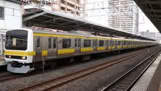 市川駅(JR総武緩行線)を発着する列車を撮ってみた