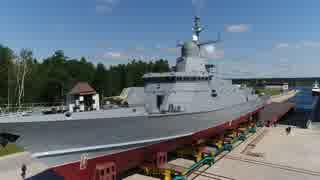 ロシアの新型コルベット カラクルト級コルベット