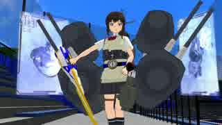 【第18回MMD杯本選遅刻組】艦娘達で仮面ライダー剣OP「Round ZERO~BLADE BRAVE」