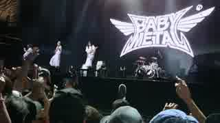 BABYMETAL summer sonic 2017 TOKYO Catch me if you can