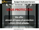budget dedicated servers with high performance