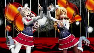 【MMD艦これ】ザラとポーラでチュルリラ・チュルリラ・ダッダッダ!