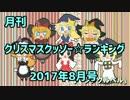 月刊クリスマスクッソー☆ランキング2017年8月号