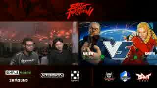 EastCoastThrowdown2017 スト5 GrandFinal ネモ vs Punk part1