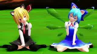【ルーミアの日】猫耳ルーチルでねこみみスイッチ【ルーチルの日】