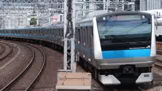 有楽町駅(JR京浜東北線)を通過・発着する列車を撮ってみた