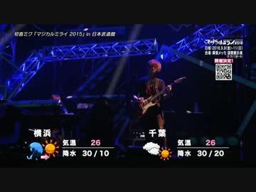 東京MXテレビ「フラッシュ天気予報」Watch from niconico