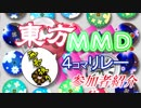 第2回東方MMD4コマ無茶ぶりリレー参加者紹介