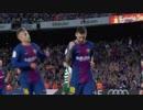 第92位:乾先発【17-18ラ・リーガ:第5節】 バルセロナ vs エイバル