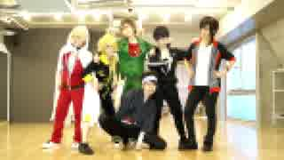 【刀剣乱舞】男士高校生6振が踊ってみた【ダンスロボットダンス】