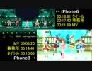 ミリシタ iPhone6とiPhone8とのロード比較