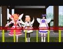 【東方MMD】三妖精とプラレール
