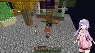 【Minecraft】空と兎に工業を【結月ゆかり